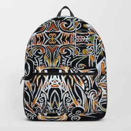 Feather Flames Backpack