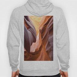 antelope canyon beam Hoody