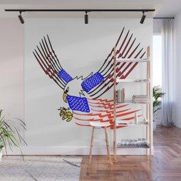 """Hoo Rah"" America Wall Mural"
