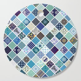 CRAZY QUILT Cutting Board