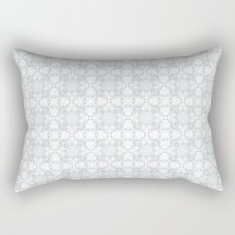 White Christmas Rectangular Pillow