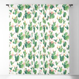 Cactus pattern Blackout Curtain