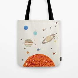 The Solar System - Planets, Moons, and Dwarf Planets Tote Bag