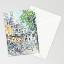 Montparnasse Paris Stationery Cards