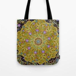 Gold Swirl Tote Bag