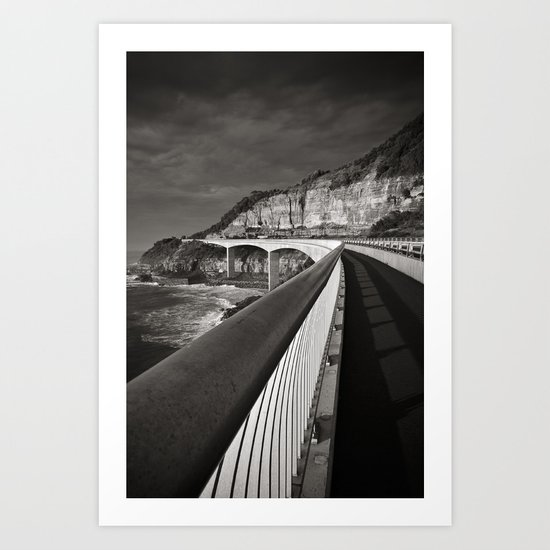Sea Cliff Bridge Art Print