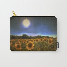 Moonlit Sunflowers Carry-All Pouch