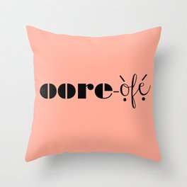 RO Throw Pillow