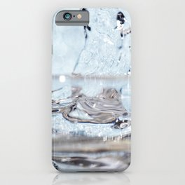 Natural Mineral Water iPhone Case