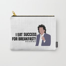 I Eat Success for Breakfast with skim milk Carry-All Pouch