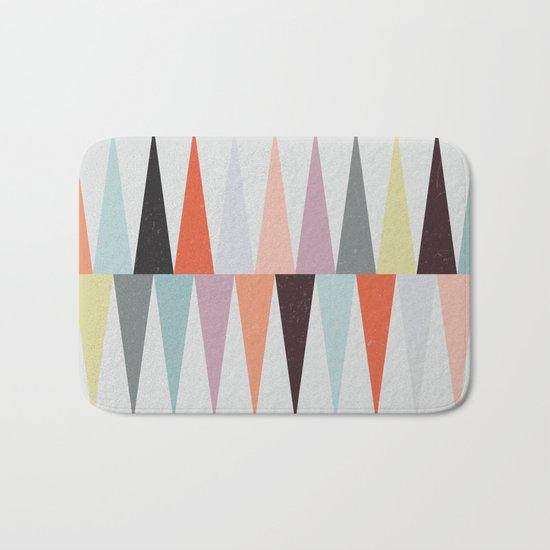 Colorful Peaks Bath Mat