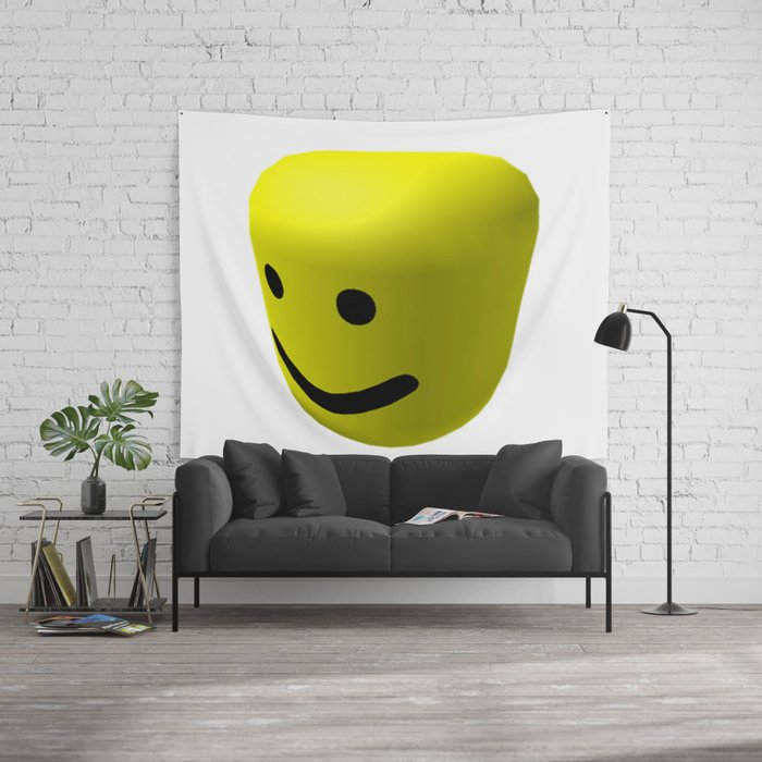 Roblox Scene Maker Oof Sound Maker Roblox Wall Tapestry By Devotchicken Society6