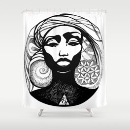 jewerly Shower Curtain