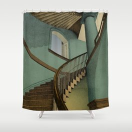 Ascending Shower Curtain