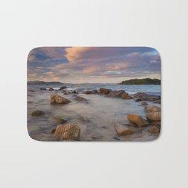 Colourful Ocean Scene Bath Mat