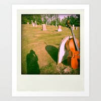 cello Art Prints featuring Cello by Jean-François Dupuis