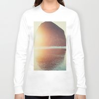night Long Sleeve T-shirts featuring This is where I want to be... by Kurt Rahn