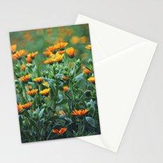 Orange Flowers #1 Stationery Cards