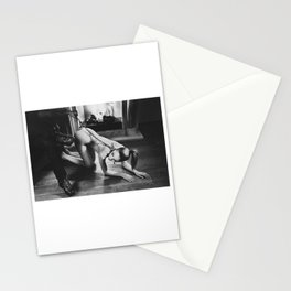 Photograph My slave girl in black and white Stationery Cards