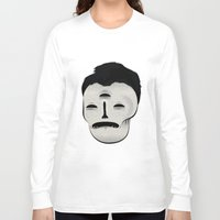 dracula Long Sleeve T-shirts featuring Dracula by Mila Spasova