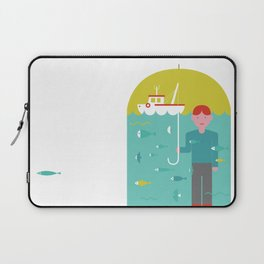 Umbrella print Laptop Sleeve