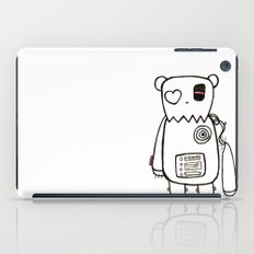 robo bear iPad Case