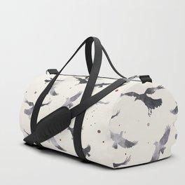 ASH RAVEN PATTERN Duffle Bag