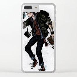 Older Dipper Clear iPhone Case