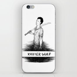 Xavier Wulf iPhone Skin
