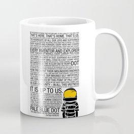 Pale Blue Dot: Carl Sagan Coffee Mug