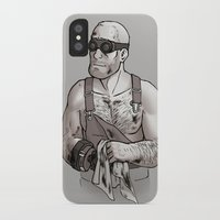 engineer iPhone & iPod Cases featuring Engineer by Kata (koomalaama)
