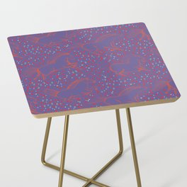Wild Horses by Friztin - Ultra Violet Side Table