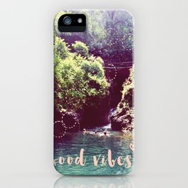 good vibes! - summer wanderlust - iPhone Case