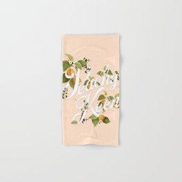 Peachy Keen : Peach Hand & Bath Towel