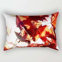 Red maple leaves Rectangular Pillow