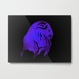 Deep One Purple Metal Print