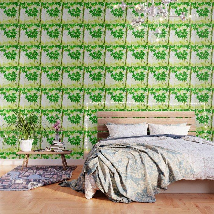 Green Leaves Of Japanese Maple Wallpaper