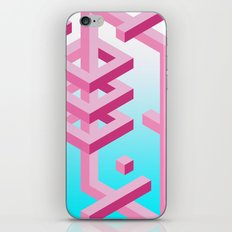Isometric Adventure iPhone & iPod Skin