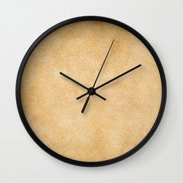 Grunge paper background Wall Clock