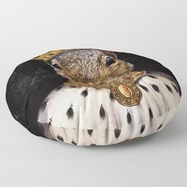Lord Peanut (King of the Squirrels!) Floor Pillow