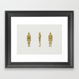 C-3PO Framed Art Print