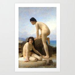 "William-Adolphe Bouguereau ""The Bathers"" Art Print"
