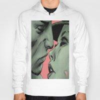 kiss Hoodies featuring kiss by ''CVogiatzi.