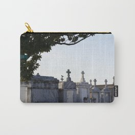 A Resting Place For Spirits Number 2 New Orleans 2 The Cemetery Crow Carry-All Pouch