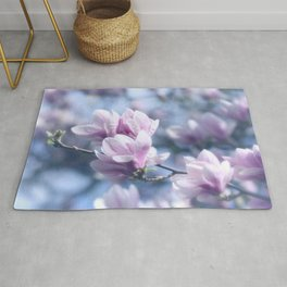 #Magnolia #beauty, #Patterns of #nature Rug