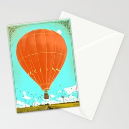 HOT AIR BALLOON Stationery Cards