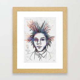 Basquiat 2 Framed Art Print