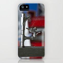 Sprung A Leak! iPhone Case
