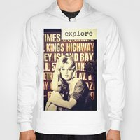 explore Hoodies featuring Explore by LadyJennD