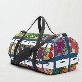 Veggie Seeds Pattern Duffle Bag